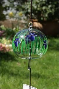 Blue Iris Wind Chime