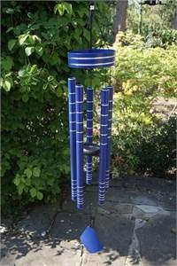 Chorus Wind Chime, 102 cm cobalt blue